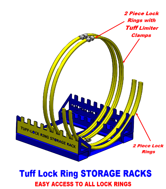 2 Piece Lock Ring System Rack