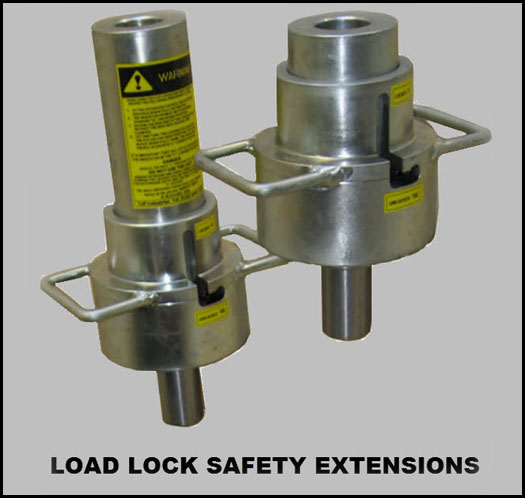 LOAD LOCK SAFETY EXTENSIONS