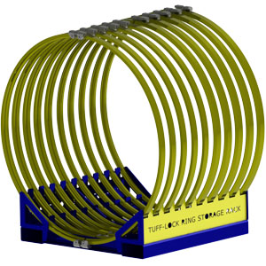 Lock Ring Storage Rack